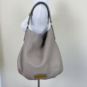 Marc By Marc Jacobs New Q Hillier Hobo Leather Bag